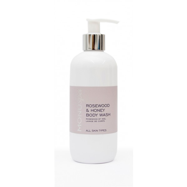 MONUSpa Rosewood Honey Body Wash 300ml v2
